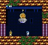 Ufouria: The Saga NES When you destroy his UFO, the alien will become sometimes invisible and use a mean laser