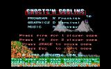 Ghosts 'N Goblins Amiga Title screen