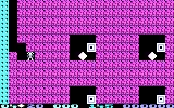 Boulder Dash PC Booter You need to be quick or the boxes of doom will catch you! (CGA)