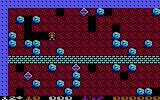 Boulder Dash PC Booter Starting the first level (PCjr)