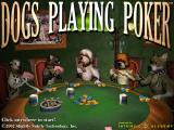 Dogs Playing Poker Windows The title screen.