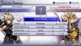 Dissidia: Final Fantasy PSP Set up the game options for the next fight.