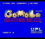 Gomola Speed TurboGrafx-16 Title screen