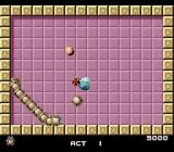 Gomola Speed TurboGrafx-16 I've placed a bomb in front of the enemy