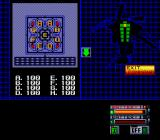 Silent Debuggers TurboGrafx-16 Map