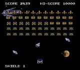 Space Invaders: Fukkatsu no Hi TurboGrafx-16 Out in space