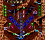 Time Cruise TurboGrafx-16 The blue energy ring stops the ball from falling through