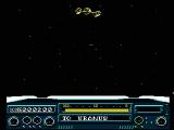 To the Earth NES An enemy spaceship flying by