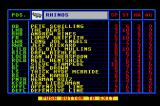 TV Sports: Football TurboGrafx-16 Team information