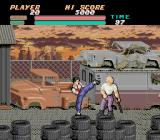 Vigilante TurboGrafx-16 Fighting in the junk yard