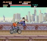 Vigilante TurboGrafx-16 Bike-borne enemies
