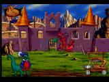 Blazing Dragons PlayStation Cat-a-Pult