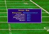 Mike Ditka Ultimate Football Genesis Setting the difficulty level