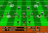 Mike Ditka Ultimate Football Genesis Shotgun formation
