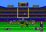 Mike Ditka Ultimate Football Genesis Field goals and conversions have all the same screen, regardless of distance (shown in the bottom left corner)