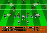 Mike Ditka Ultimate Football Genesis Defending against split backs