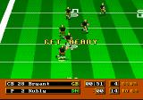 Mike Ditka Ultimate Football Genesis The player has a few moments to read the blockers and choose the best return path