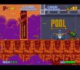 Daffy Duck: The Marvin Missions SNES Entering the Lava Lakes Pleasure Resort