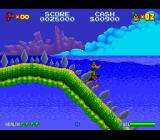 Daffy Duck: The Marvin Missions SNES Starting out on the aquatic planet