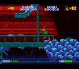 Daffy Duck: The Marvin Missions SNES Level 3, against a Jupiter backdrop