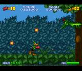 Daffy Duck: The Marvin Missions SNES A jungle miniboss