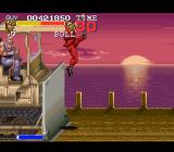 Final Fight 3 SNES A bonus level where the player has to stop a bulldozer