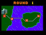 Alex Kidd in Shinobi World SEGA Master System Map