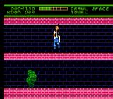 Ghoul School NES Crawl space, big enough to jump around in