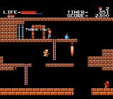 The Goonies NES Staging a rescue
