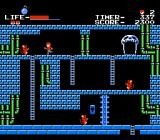 The Goonies NES Negotiating a slightly bluer level