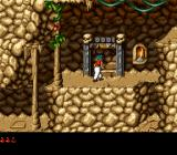 Prince of Persia 2: The Shadow & The Flame SNES The door opens, and the next level is achieved