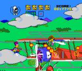 The Simpsons: Bart's Nightmare SNES Burns shows up in a biplane