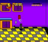 The Simpsons: Bart's Nightmare SNES The telephone gets to Bart