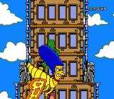 The Simpsons: Bart's Nightmare SNES Marge-ra wafts by