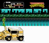 Teenage Mutant Ninja Turtles NES Watch out for the plow