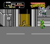 Teenage Mutant Ninja Turtles NES Baxter, the mutant fly, must be defeated to save April