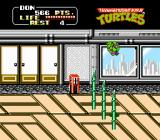 Teenage Mutant Ninja Turtles NES Watch the floor spikes in this high rise with a view