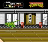 Teenage Mutant Ninja Turtles NES Paper tigers on the wall materialize into physical, killer tigers