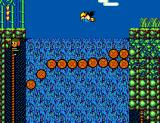 Alex Kidd in Shinobi World SEGA Master System End of the waterfall