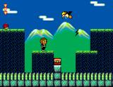 Alex Kidd in Shinobi World SEGA Master System Nice view of the mountains