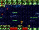 Alex Kidd in Shinobi World SEGA Master System Over the lava pit