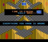Marble Madness NES The title of level 5 says it all: Everything you know is wrong