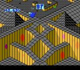 Marble Madness NES In level 5, gravity works in reverse-- roll uphill