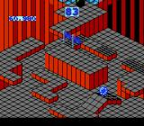 Marble Madness NES The platform randomly appears and disappears close to the finish line