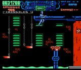 RoboCop 3 NES Platform jumping over toxic sludge