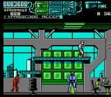 RoboCop 3 NES Dual ninja boss (with a computer geek in the background)