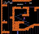 Spelunker NES Climb the stairs for a precious key