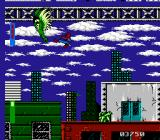 Spider-Man: Return of the Sinister Six NES Finally fighting Vulture at the end of level 4