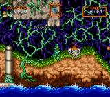 Super Ghouls 'N Ghosts SNES Fighting through jungles and caves
