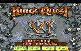 King's Quest VI: Heir Today, Gone Tomorrow DOS Title screen (EGA)